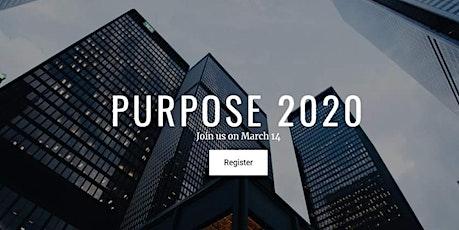 Purpose 2020 Workshop tickets