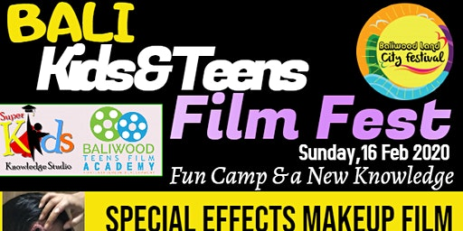 Bali Kids & Teens Film Fest, Feb 2020