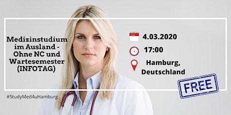 Medizinstudium im Ausland - Ohne NC und Wartesemester (INFOTAG) Tickets