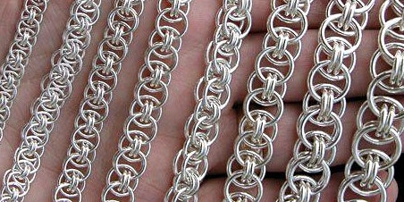 Helm Weave Chainmaille - Jewelry Making