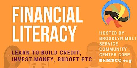 Financial Literacy WEBINAR/ Generational Wealth tickets
