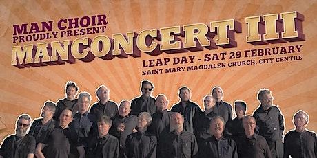 MAN CONCERT III tickets