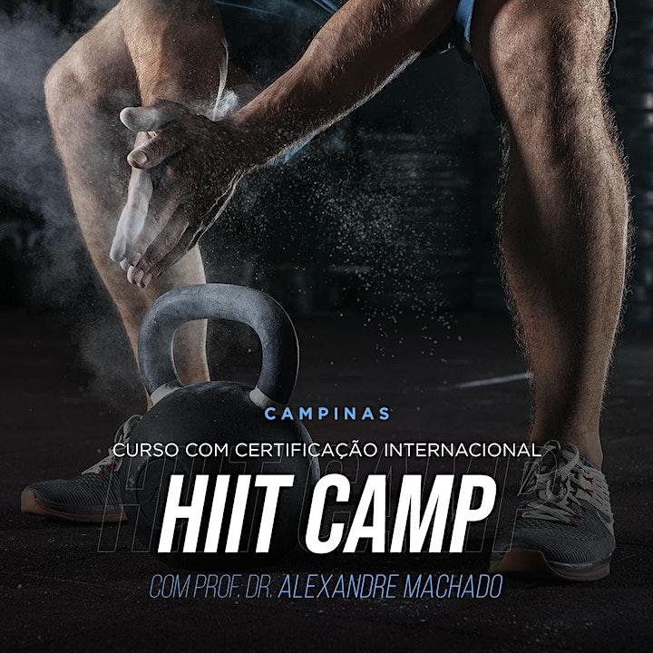 Imagem do evento HIIT Camp - Certificação Internacional