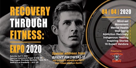 Recovery Through Fitness Expo 2020 tickets