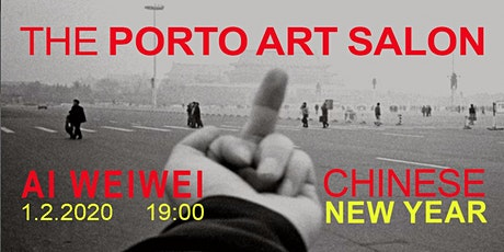 Porto art salon: Ai Weiwei at chinese new year- talk, film, food bilhetes
