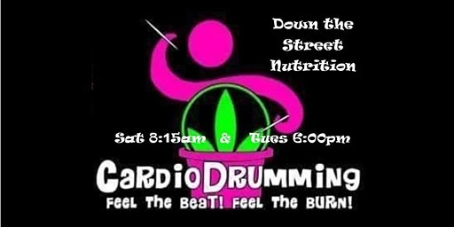 Cardio Drumming Tues, 2/18- 6pm