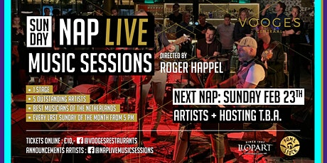 NAP Live Music Sessions at Vooges Centraal tickets
