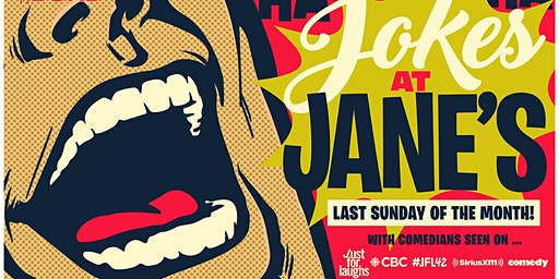 Jokes at Jane's February (Headliner: Natalie Norman)