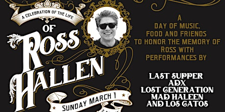 A Celebration of the Life of Ross Hallen tickets