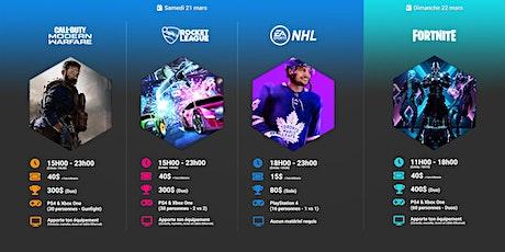 Événement Gaming IV : fin de semaine eSports tickets