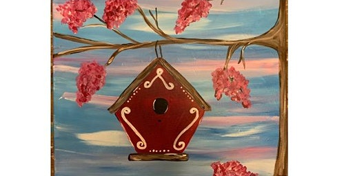 Romer's Bar & Grill - Beautiful Birdhouse - Paint Party