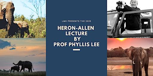 Heron-Allen Lecture 2020