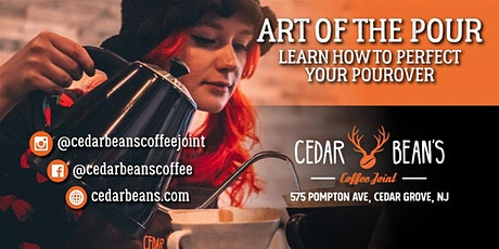 The Art of the Pour at Cedar Bean's Coffee Joint tickets