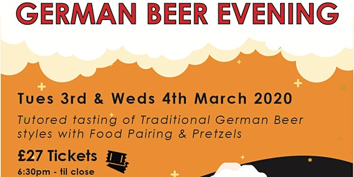 GERMAN BEER AND FOOD EVENING @A Hoppy Place