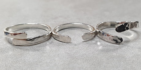 Sterling Silver Wrap Rings Creative Craft Class tickets