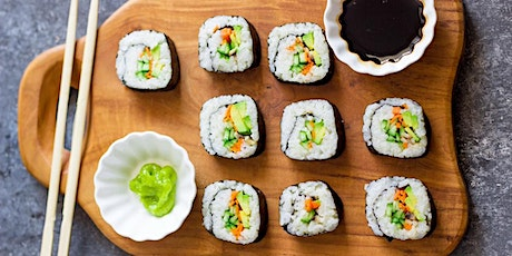 Make Your Own Sushi with Chef Jared tickets