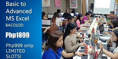 BACOLOD WEEKEND Class - Basic to Advanced MS Excel Training tickets