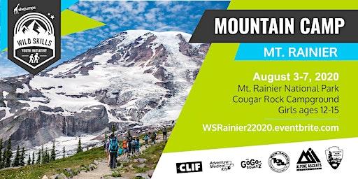WA Wild Skills Mountain Camp: Rainier 2