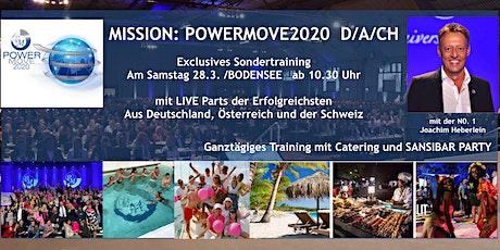 MISSION: POWERMOVE  D/A/CH  Sa 28.3. 2020 Tickets