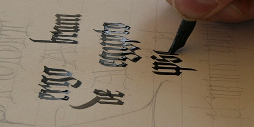 Medieval Calligraphy Workshop - half day