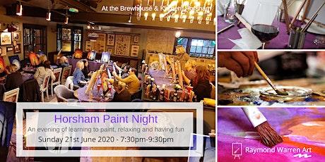 Horsham Paint Night tickets