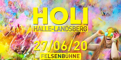 HOLI Festival Halle-Landsberg 2020 Tickets