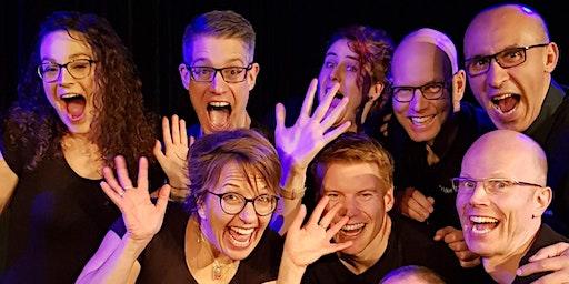 Improvisatietheater voorstelling | Scenés door Dikke Duim Theatersport