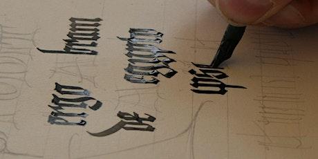Medieval Calligraphy Workshop - full day billets