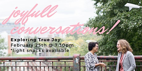Joyfull Conversations: February Edition tickets