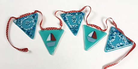 Make Bunting from Fused Glass tickets