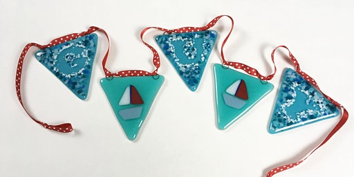 Make Bunting from Fused Glass
