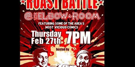 Comedy Roast Battle tickets