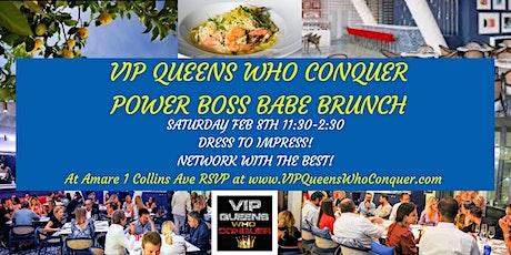 VIP QUEENS WHO CONQUER ELITE SOCIAL NETWORKING EVENT-POWER WOMEN FUN MIXER tickets