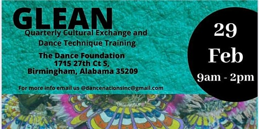 Glean: Quarterly Cultural Exchange & Technical Dance Training