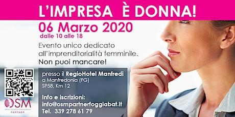 L'Impresa è DONNA 2020 - Puglia Molise Abruzzo Sud biglietti
