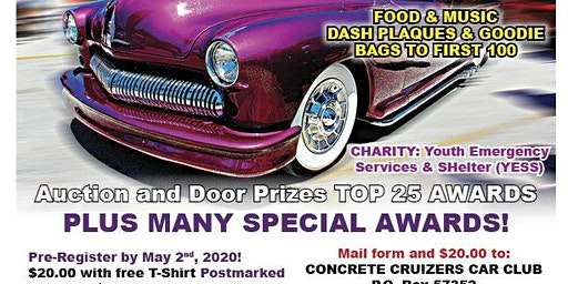 Concrete Cruizers Charity Car Show
