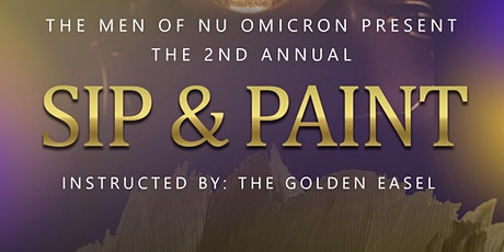 The Men of Nu Omicron Chapter Presents: Sip & Paint tickets