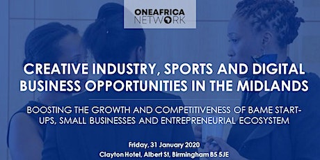 Creative Industry, Sports  and Digital Businesses in the Midlands tickets