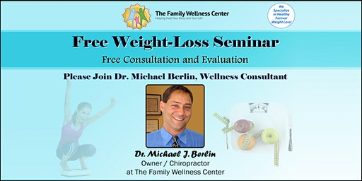 Free Weight Loss Seminar with Wellness Consultant & Doctor