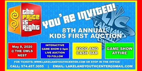 Lakeland Youth Center 8th Annual Kids First Auction tickets