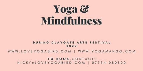 The Art of Yoga & Mindfulness tickets