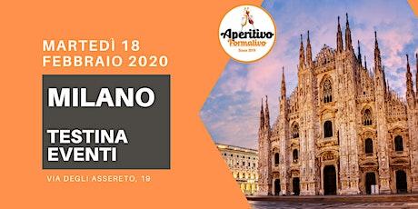 Aperitivo Formativo Milano - Febbraio 2020 tickets