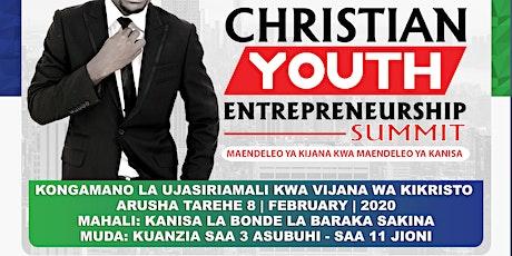 CHRISTIAN YOUTH ENTREPRENEURSHIP SUMMIT tickets