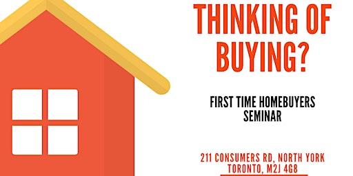 Homebuyer's Seminar - Toronto Real Estate Information Session