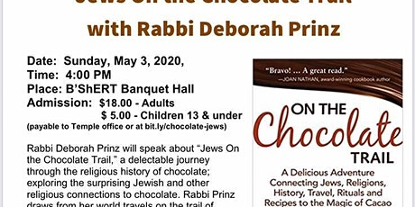 Jews On The Chocolate Trail! tickets
