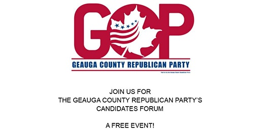Geauga County Republican Party Candidates Forum