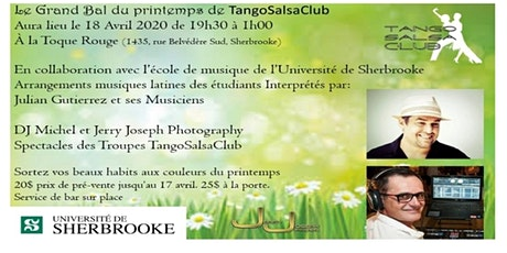 Le Grand Bal du Printemps de TangoSalsaClub tickets