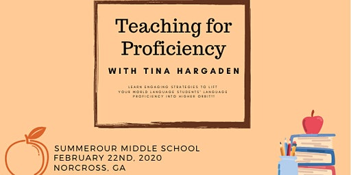Teaching for Proficiency