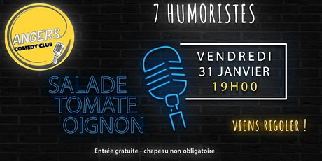 Angers Comedy Club tickets