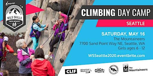 WA Wild Skills Climbing Day Camp: Seattle
